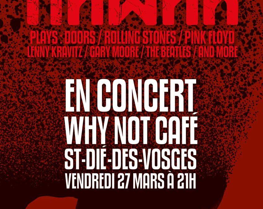 NWK au Why Not Café à Saint-Dié-des-Vosges